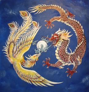 Dragone e fenice nell'arte cinese
