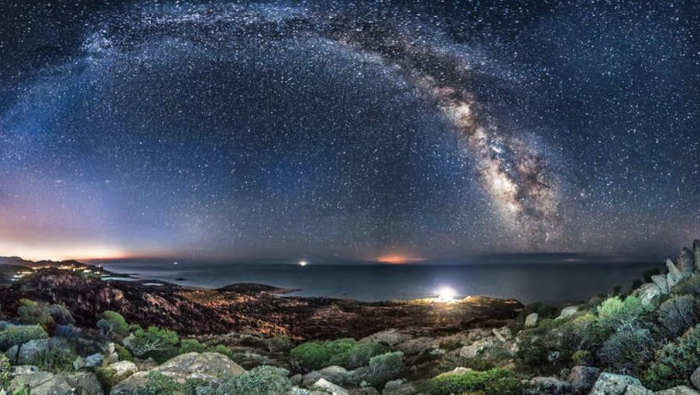 Via Lattea sulla Sardegna