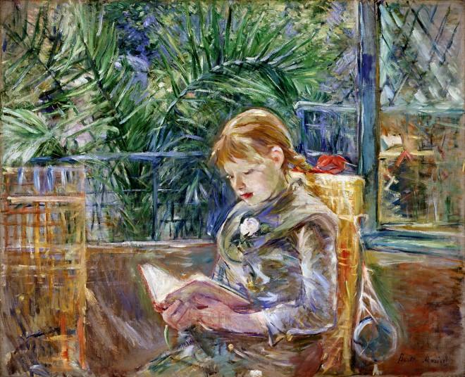 Berthe Morisot, La Lecture