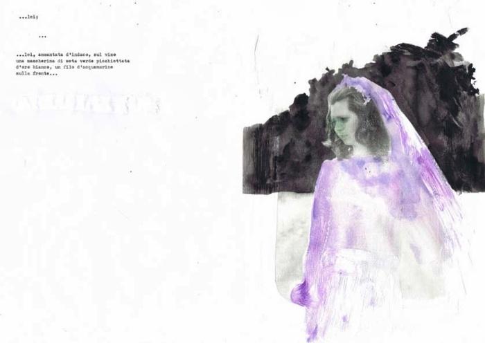 """Illustrazione per """"Se una notte d'inverno un viaggiatore"""" di Italo Calvino"""