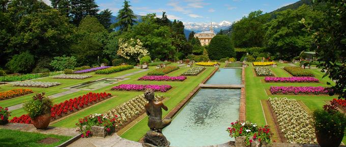 Giardini botanici di Villa Taranto, lago Maggiore, by viaggiare.dimoredepoca.it