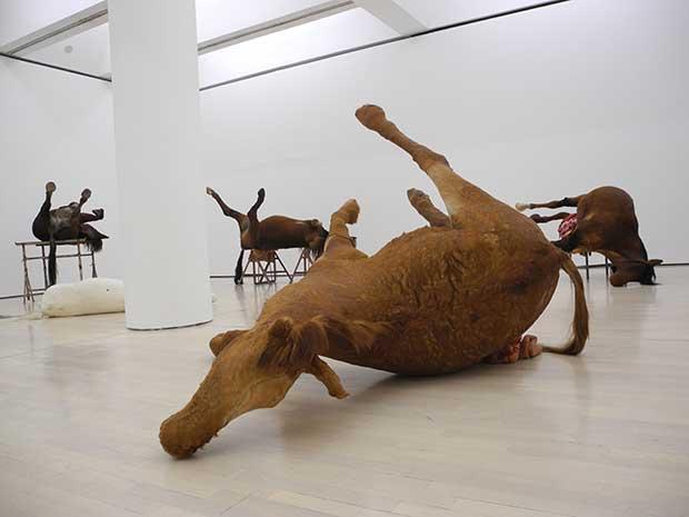 Horses by Berlinde de Bruyckere