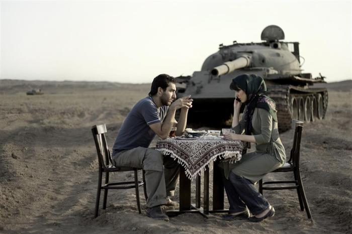 """Today's Life and War"" by Gohar Dashti, 2005"
