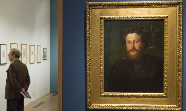 Anarchy & Beauty. William Morris and his Legacy, 1860-1960 exbibition, National Portrait Gallery, London, Britain - 15 Oct 2014