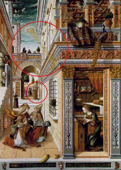 """Annunciazione"" di Carlo Crivelli"