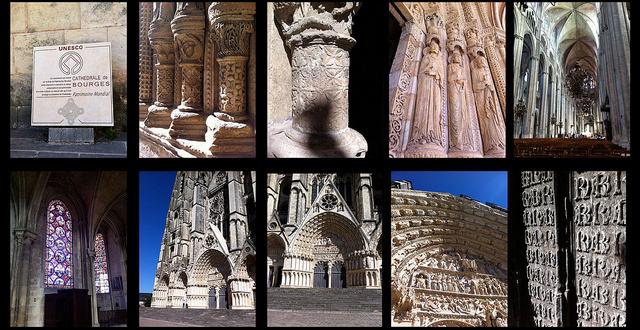 Particolari cattedrale di Bourges, di sarasx (CC BY-NC-SA 2.0)