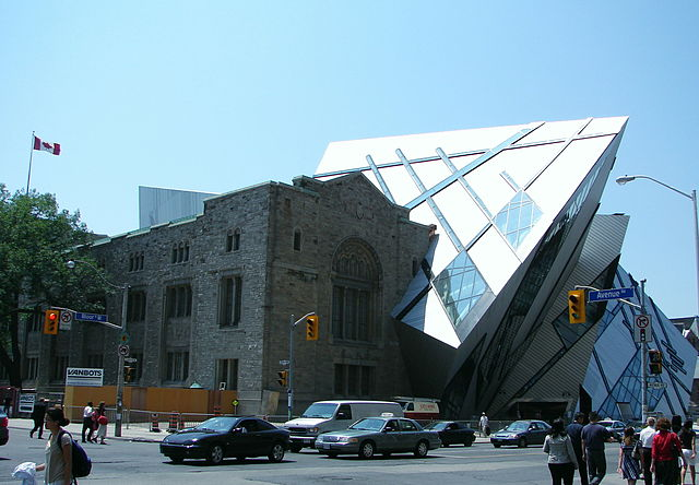 Royal Ontario Museum in Toronto, by Daniel Libeskind