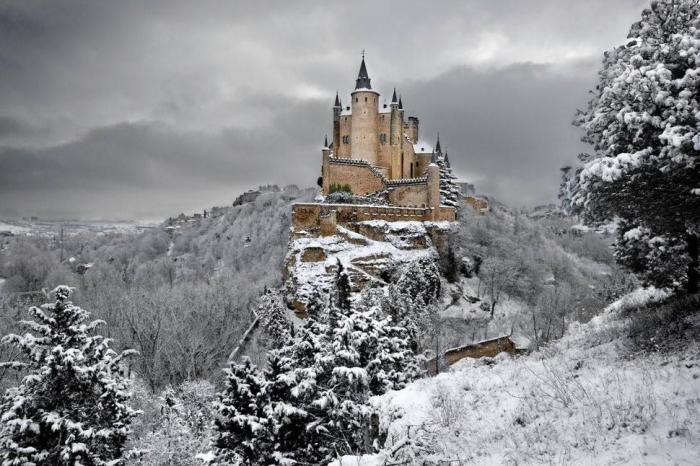 The Alcázar of Segovia, Spain