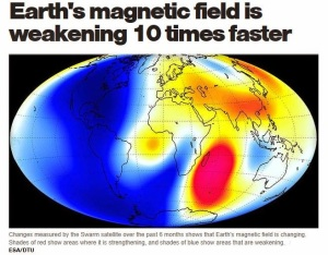CBS-headline-and-Swarm-satellite-Earth-map-magnetic-field-changes-July2014