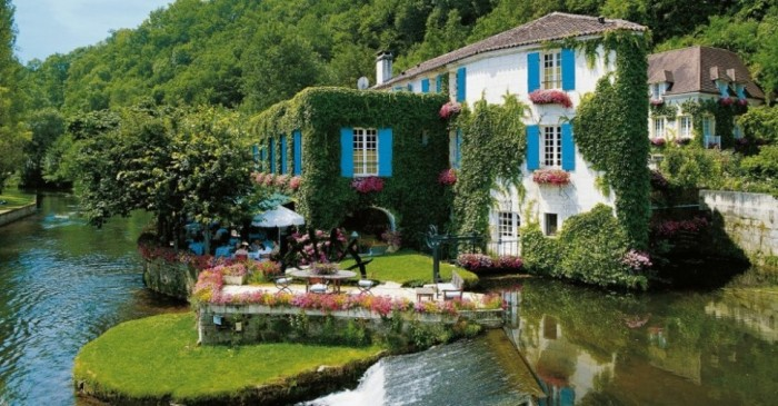 Hotel Moulin de Roc, France