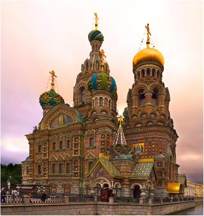 The Church of the Savior on Spilled Blood, Saint Petersburg, Russia