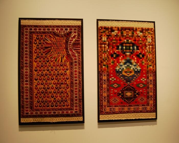 Tappeti da meditazione sufi di Waqas Kahn