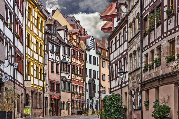 Weißgerbergasse, Nuremberg, Germany