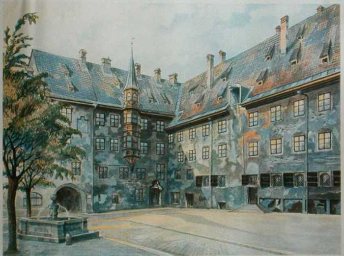 watercolour by Adolf Hitler